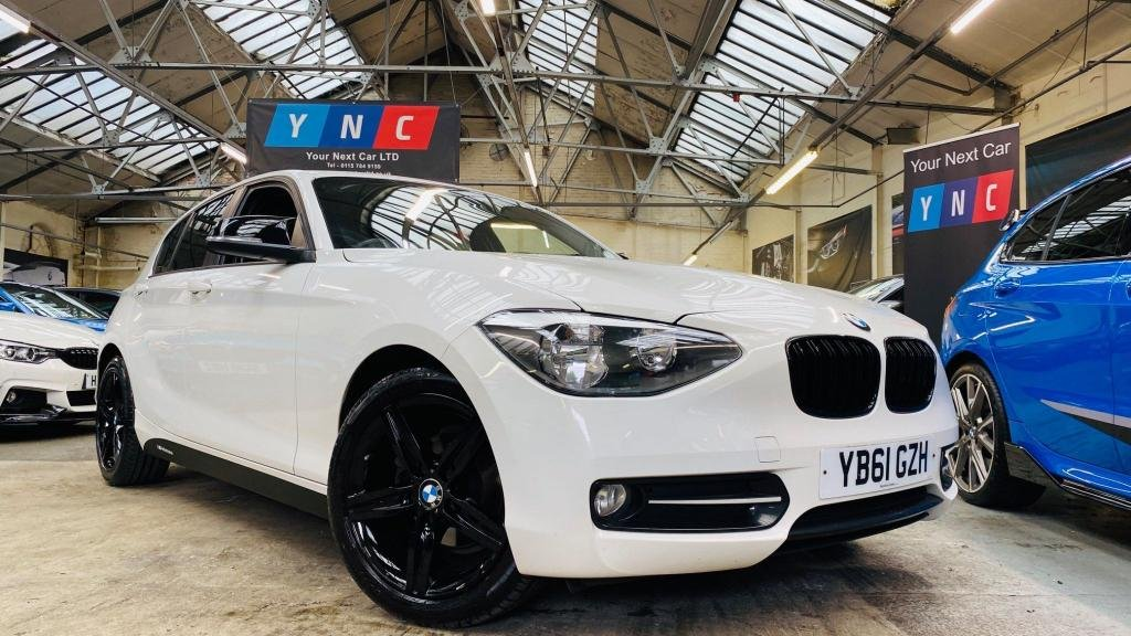 USED 2012 61 BMW 1 SERIES 2.0 116d Sport 5dr YNCSTYLING+SPORT+BLUETOOTH