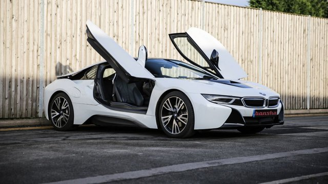 BMW I8 at Bonsha Motors