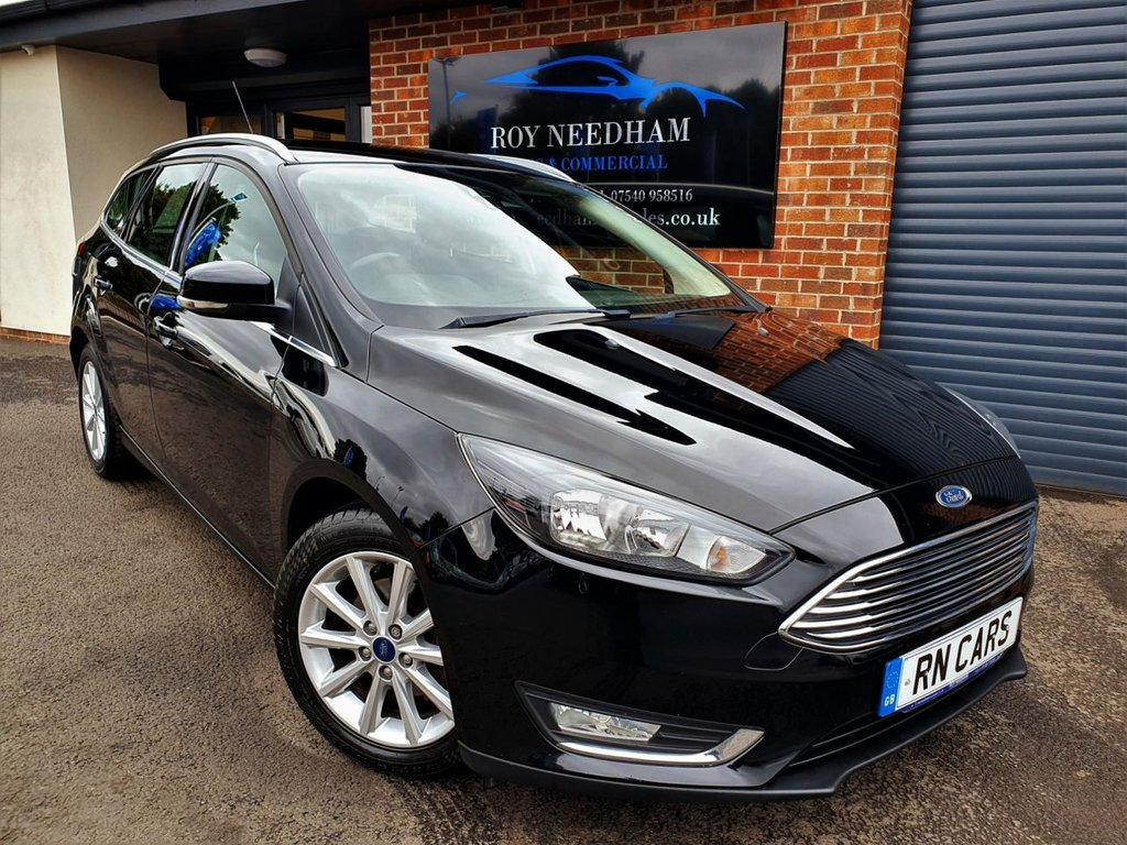 USED 2015 65 FORD FOCUS 1.5 TITANIUM TDCI 5DR 118 BHP *** ONE OWNER - JUST SERVICED ***