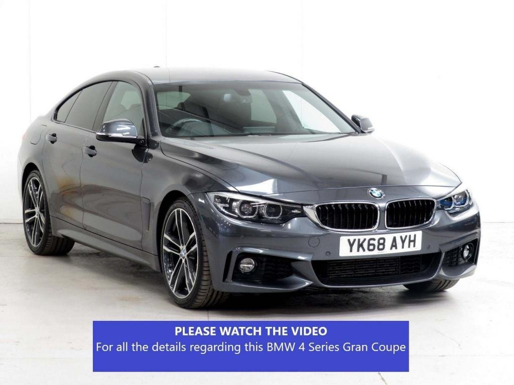 USED 2018 68 BMW 4 SERIES 2.0 420d M Sport Auto (s/s) 5dr £6785 XTRA*COMFORT + PLUS PACK