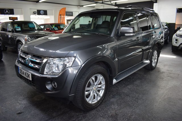 USED 2014 14 MITSUBISHI SHOGUN 3.2 DI-D SG3 5d 197 BHP 7 SEATS LOVELY CONDITION SG3 - MITSUBISHI S/H TO 57K MILES - LEATHER - NAV - R/CAMERA - HEATED SEATS - SIDE STEPS - 7 SEATS