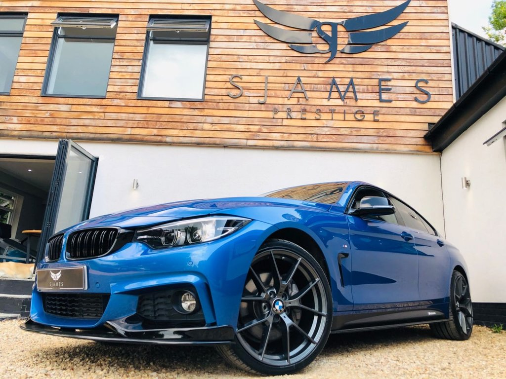 USED 2017 17 BMW 4 SERIES 3.0 430D XDRIVE M SPORT GRAN COUPE 4d AUTO 255 BHP