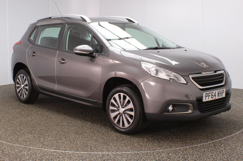 USED 2015 64 PEUGEOT 2008 1.6 E-HDI ACTIVE FAP 5DR AUTO 92 BHP SERVICE HISTORY + FREE 12 MONTHS ROAD TAX + BLUETOOTH + CRUISE CONTROL + MULTI FUNCTION WHEEL + AIR CONDITIONING + DAB RADIO + AUX/USB PORTS + ELECTRIC WINDOWS + ELECTRIC/HEATED DOOR MIRRORS