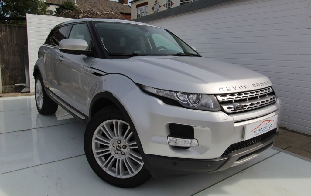 USED 2013 62 LAND ROVER RANGE ROVER EVOQUE 2.2 SD4 PRESTIGE LUX 5d 190 BHP Great History - 5K of options
