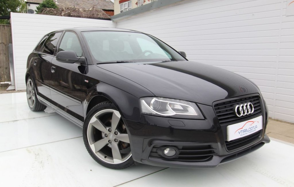 USED 2012 62 AUDI A3 2.0 SPORTBACK TDI S LINE SPECIAL EDITION 5d 138 BHP 2 Keys - BOSE -
