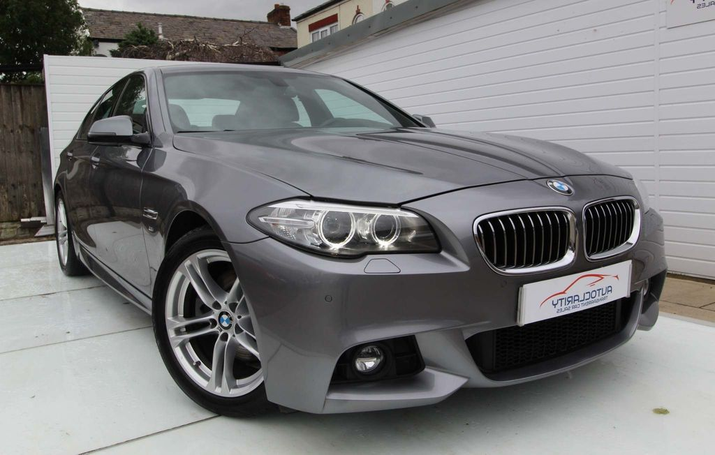 USED 2016 BMW 5 SERIES 2.0 520D M SPORT 4d 188 BHP 2 Keys Over 5k of options FSH