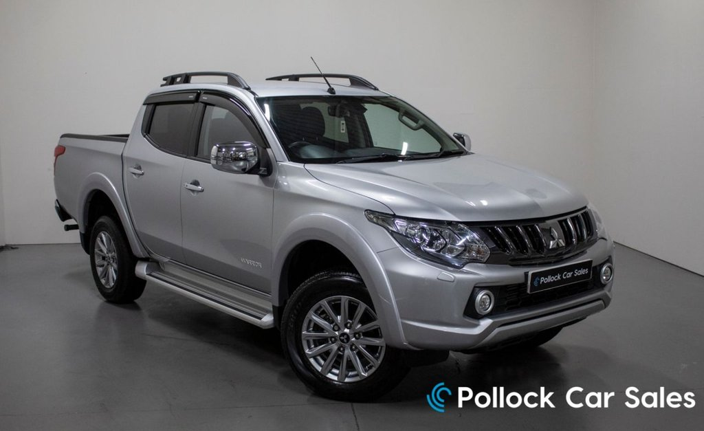 USED 2018 18 MITSUBISHI L200 WARRIOR MANUAL 178BHP 3.5T NEVER TOWED 3.5T Towing, Canopy, Excellent condition
