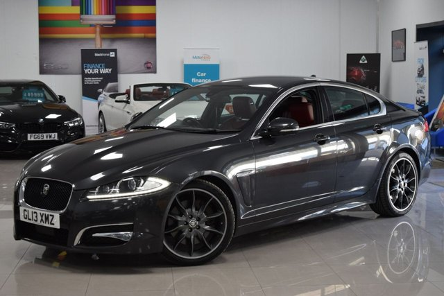 USED 2013 13 JAGUAR XF 3.0 D V6 S PORTFOLIO 4d 275 BHP ADAPTIVE CRUISE, RED LEATHER, 4.5K! MUST BE SEEN