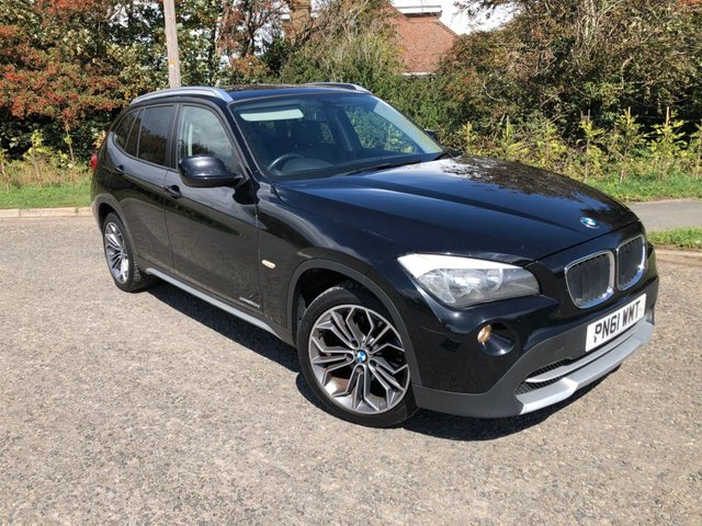 USED 2011 61 BMW X1 2.0 XDRIVE20D SE 5d 174 BHP * GREAT SUV BODY STYLE - SHARP HANDLING -FUN DRIVING & PREMIUM FEEL IN AN ATTRACTIVE SUV *