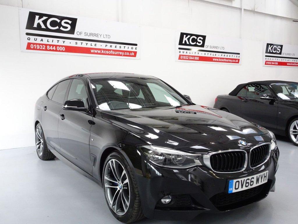 USED 2016 66 BMW 3 SERIES 2.0 320D M SPORT GRAN TURISMO 5d 188 BHP PRO NAV - M-SPORT PLUS PACK