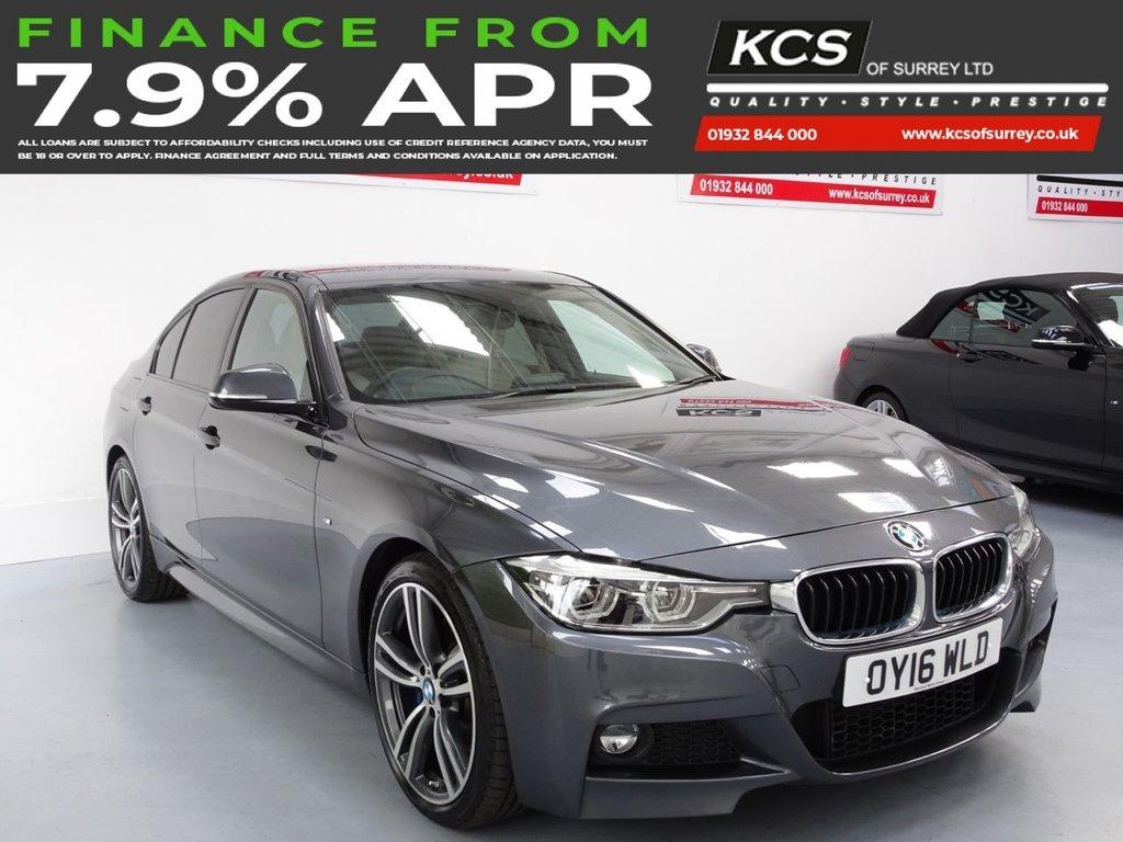 USED 2016 16 BMW 3 SERIES 2.0 320I M SPORT 4d 181 BHP SAT NAV - M SPORT PLUS PACK
