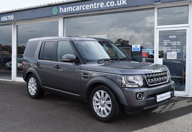 2016 65 LAND ROVER DISCOVERY 4 3.0 SDV6 COMMERCIAL SE 255 BHP 7 SEATER