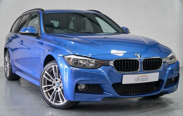 2015 64 BMW 3 SERIES 2.0 320D XDRIVE M SPORT TOURING 5d 181 BHP