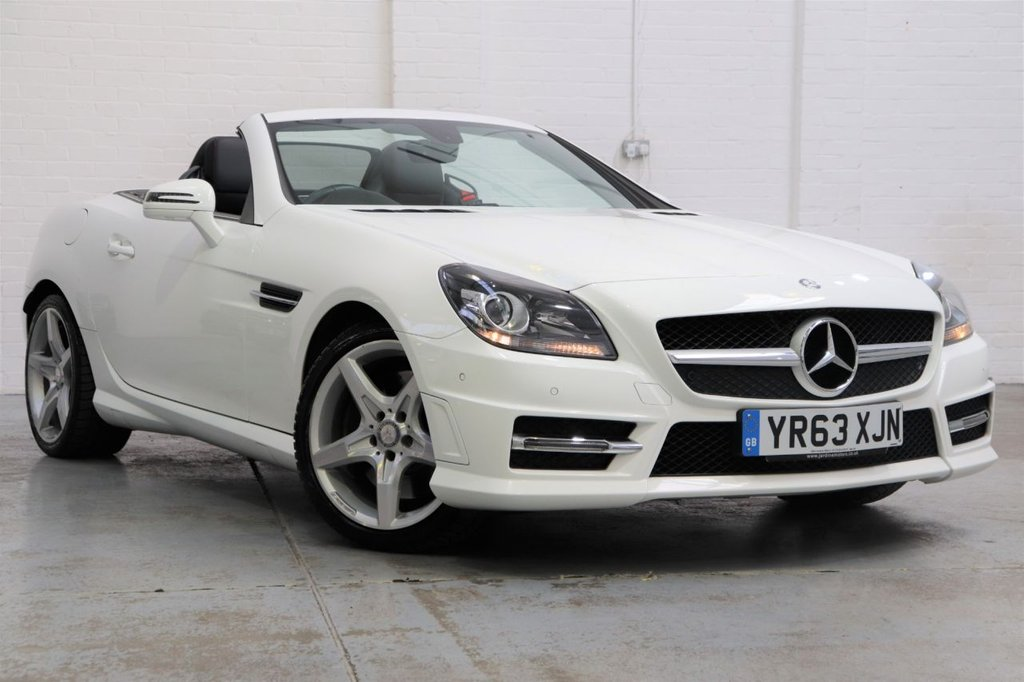 USED 2013 63 MERCEDES-BENZ SLK 2.1 SLK250 CDI BLUEEFFICIENCY AMG SPORT 2d 204 BHP Full Mercedes Service History