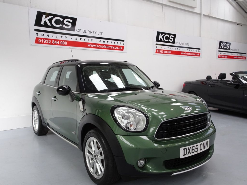 USED 2015 65 MINI COUNTRYMAN 2.0 COOPER D ALL4 5d 110 BHP ALL 4 - CHILI PACK - DAB