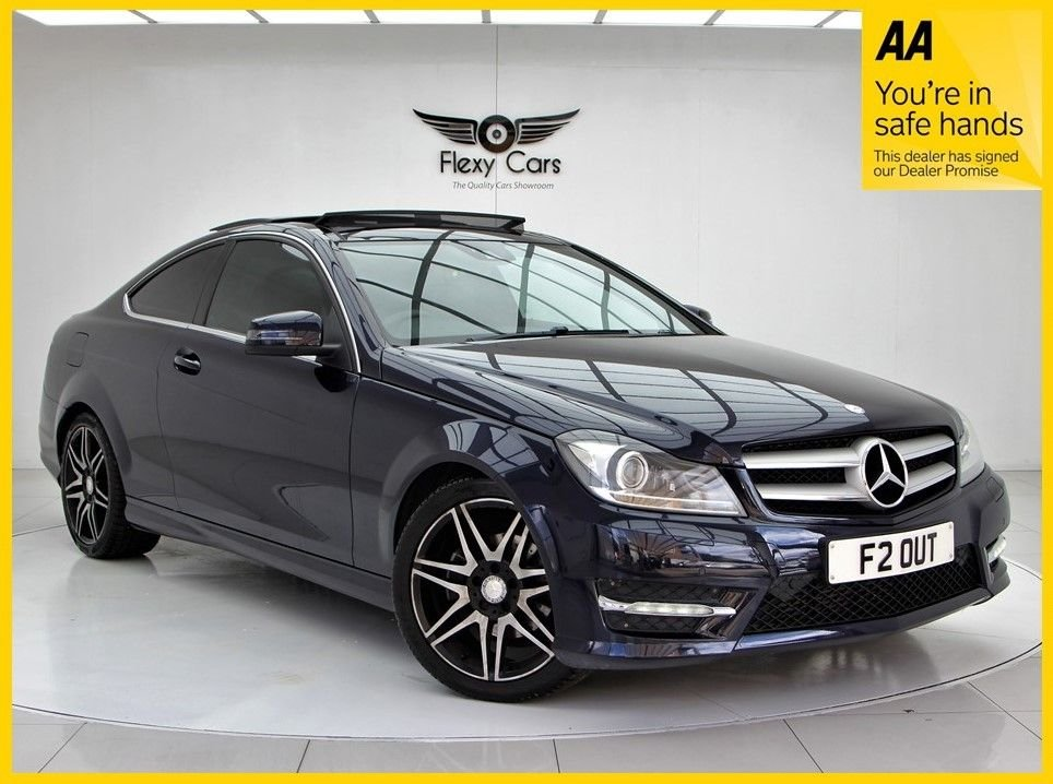 USED 2013 F MERCEDES-BENZ C-CLASS 2.1 C220 CDI BLUEEFFICIENCY AMG SPORT PLUS 2d 168 BHP