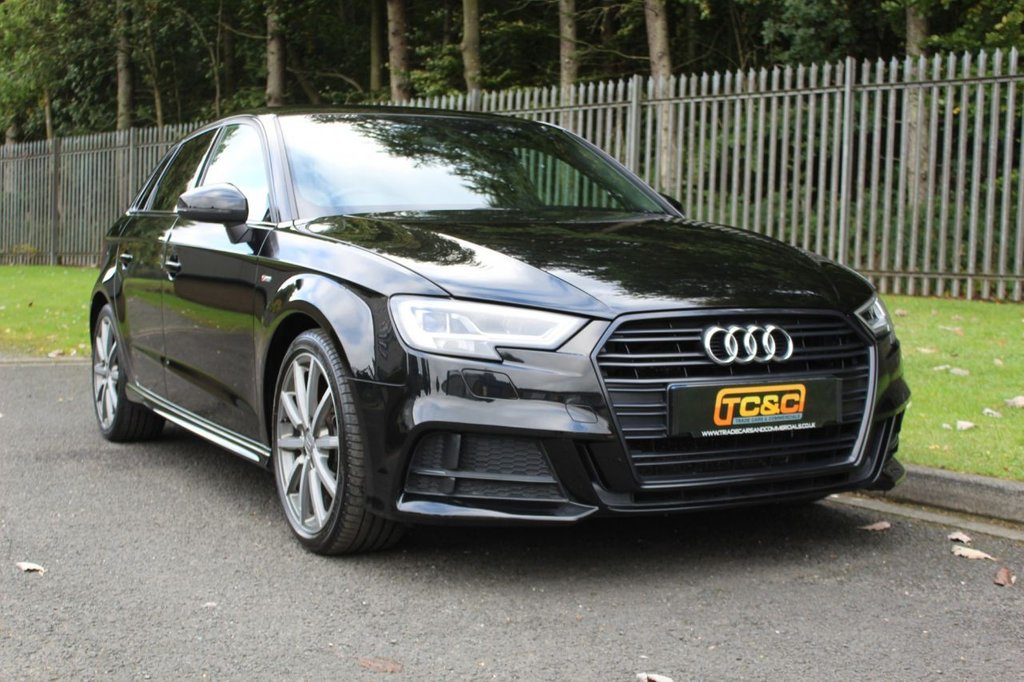 USED 2018 67 AUDI A3 2.0 TDI BLACK EDITION 5d 148 BHP A STUNNING BLACK EDITION A3 WITH FULL AUDI SERVICE HISTORY AND LOW OWNERS!!!