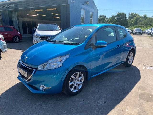USED 2012 62 PEUGEOT 208 1.4 ACTIVE 3d 95 BHP FULL SERVICE HISTORY