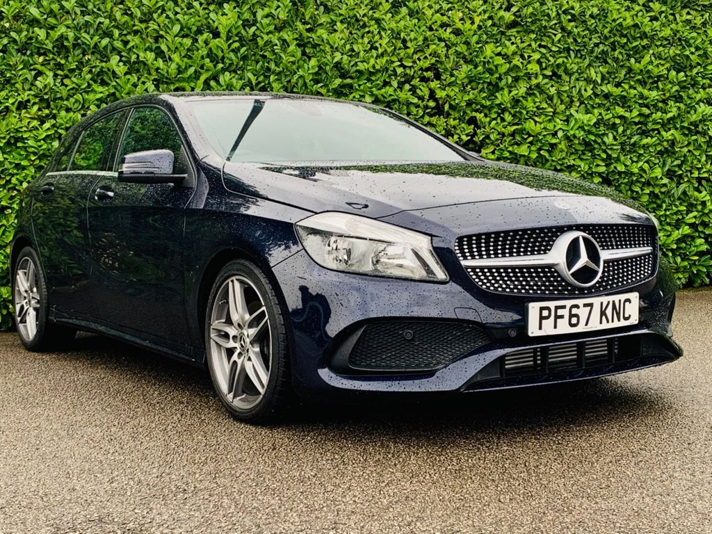 USED 2018 67 MERCEDES-BENZ A-CLASS 1.6 A 160 AMG LINE 5d 102 BHP