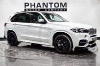 USED 2017 17 BMW X5 3.0 M50D 5d 376 BHP