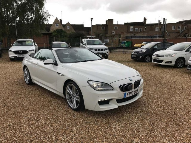 USED 2013 13 BMW 6 SERIES 3.0 640d M Sport (s/s) 2dr Sat Nav, 20' Alloys, DAB ++