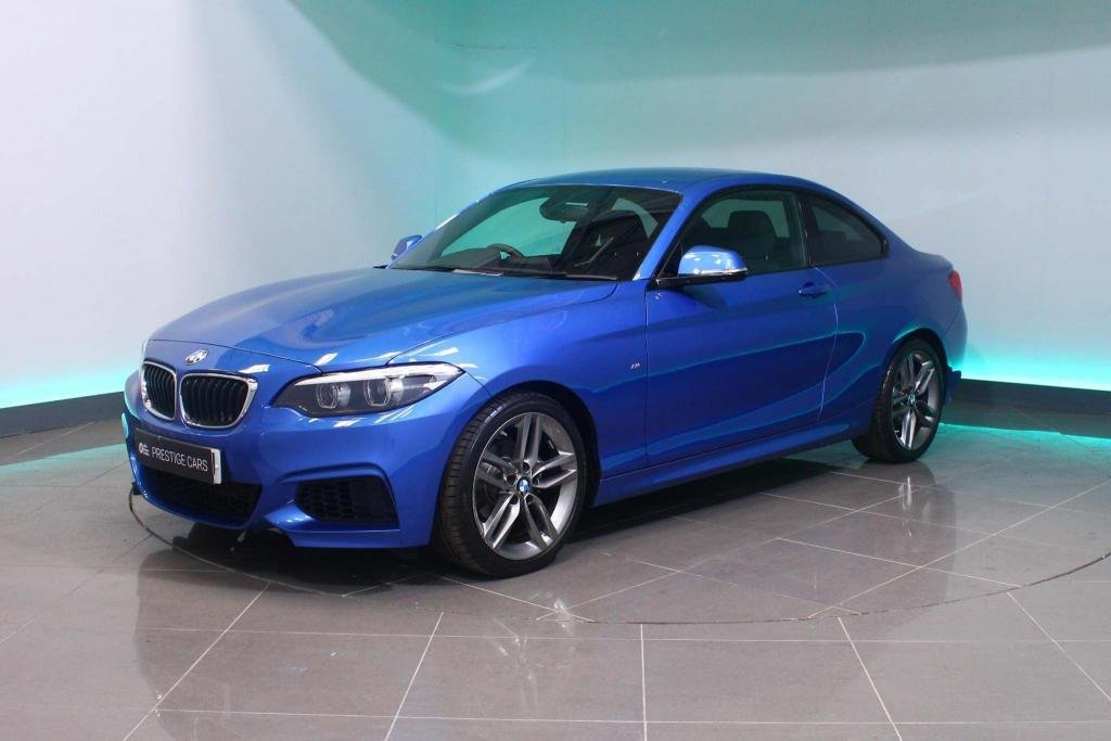 USED 2018 68 BMW 2 SERIES 1.5 218i GPF M Sport Auto (s/s) 2dr HEATED SEATS - SAT NAV - DAB