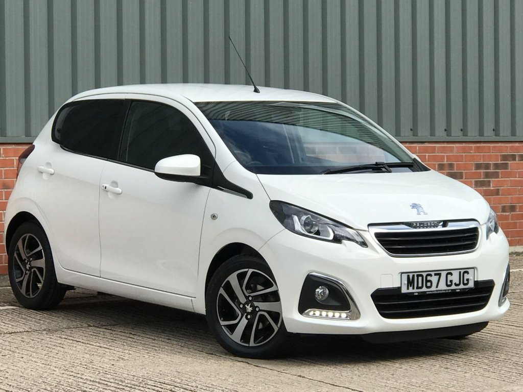 USED 2018 67 PEUGEOT 108 1.2 PURETECH ALLURE 5d 82 BHP FANTASTIC LOW MILEAGE EXAMPLE