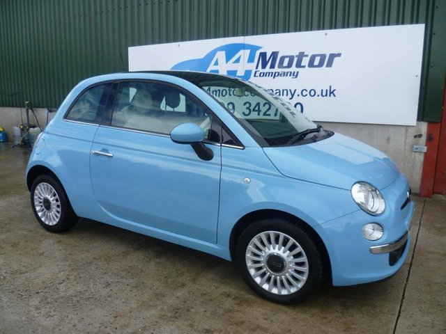 2013 63 FIAT 500 1.2 Lounge (s/s) 3dr