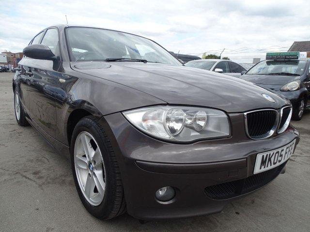 USED 2005 05 BMW 1 SERIES 2.0 118D SE 5d 121 BHP GOOD SERVICE