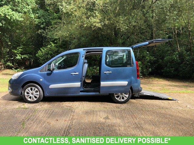 USED 2011 11 CITROEN BERLINGO 1.6 HDI PLUS 5d 91 BHP ULTRA LOW MILEAGE, WAV RAMP SCOOTER/WHEELCHAIR ACCESS-DELIVERY POSSIBLE