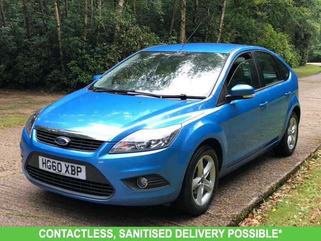 USED 2011 60 FORD FOCUS 1.6 ZETEC 5d 99 BHP AUTOMATIC VERY LOW MILEAGE, AIR CON, FINANCE ME TODAY-UK DELIVERY POSSIBLE