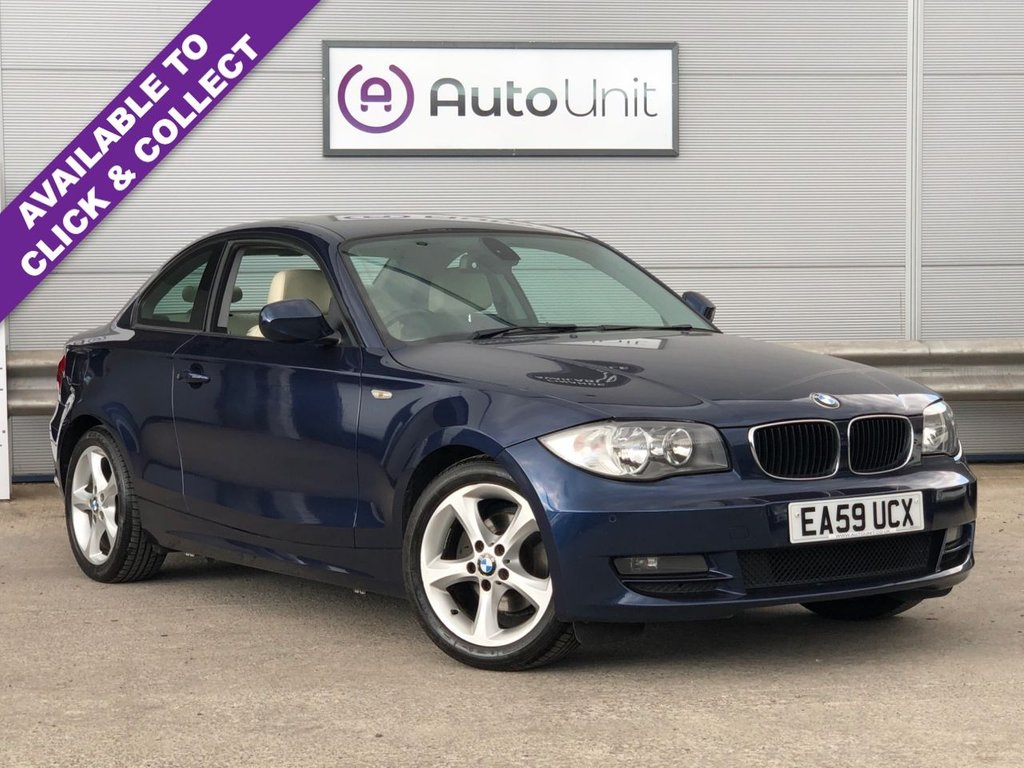 USED 2009 59 BMW 1 SERIES 2.0 118D SPORT 2d 141 BHP SENSORS + LEATHER + AIR CON