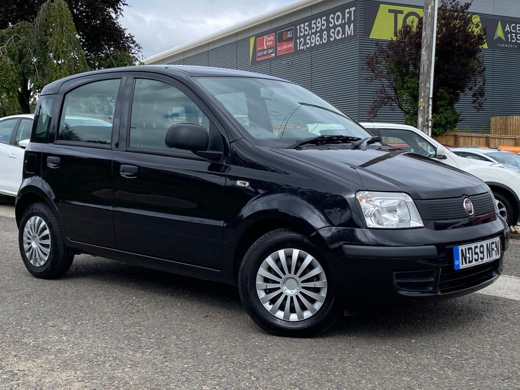 USED 2010 59 FIAT PANDA 1.1 ACTIVE ECO 5d 54 BHP LOW MILEAGE, DRIVE AWAY TODAY