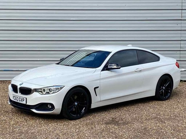 USED 2013 63 BMW 4 SERIES 2.0 420D SPORT 2d 181 BHP Sport Heated Dakota Leather