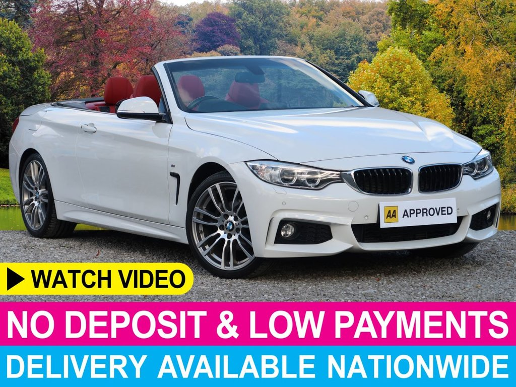 USED 2014 14 BMW 4 SERIES 420d M Sport Auto 2.0 Convertible 19
