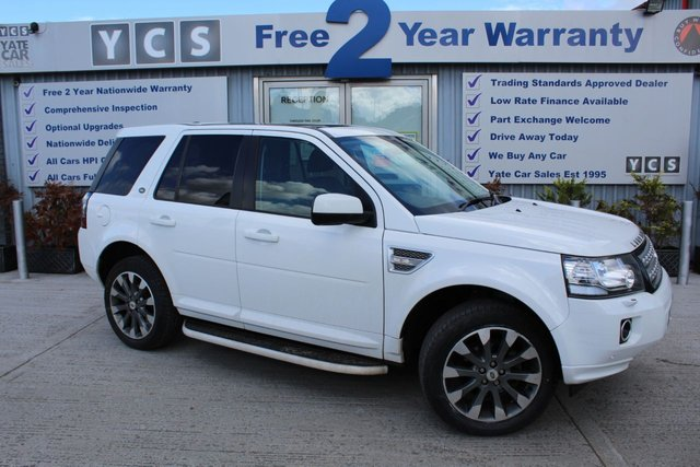 2014 14 LAND ROVER FREELANDER 2 2.2 SD4 HSE LUXURY 5d 190 BHP (FREE 2 YEAR WARRANTY)