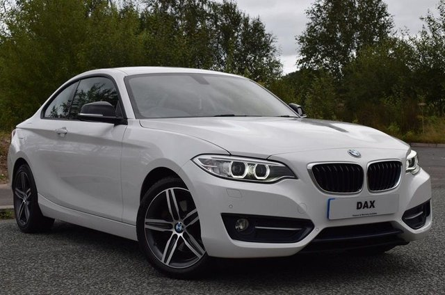 2016 66 BMW 2 SERIES 2.0 220D SPORT 2d 188 BHP