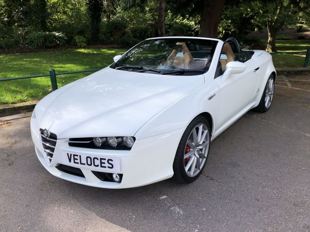 USED 2008 08 ALFA ROMEO SPIDER 2.2 JTS LIMITED EDITION 2d 185 BHP INCREDIBLY LOW MILEAGE