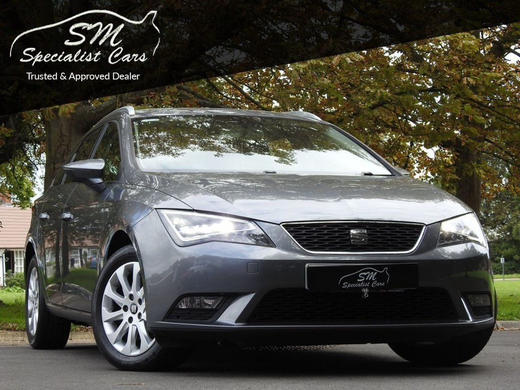 USED 2014 14 SEAT LEON 2.0 TDI SE TECHNOLOGY 5d 150 BHP DRIVES SUPERB A/C 50 MPG VGC