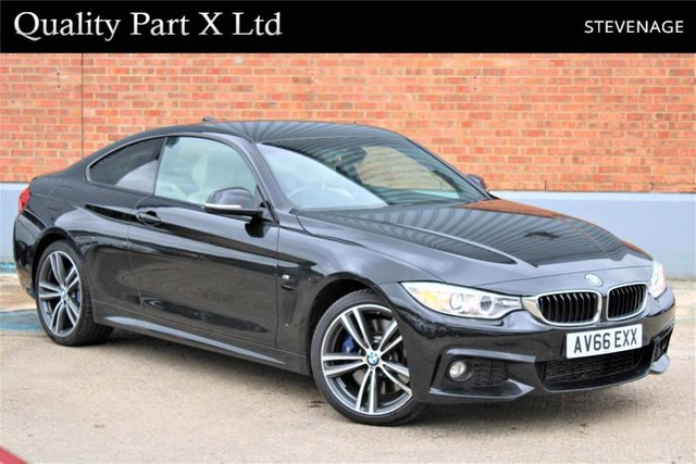USED 2016 66 BMW 4 SERIES 3.0 430d M Sport xDrive 2dr SATNAV,BLUETOOTH,XENON,CAMERA
