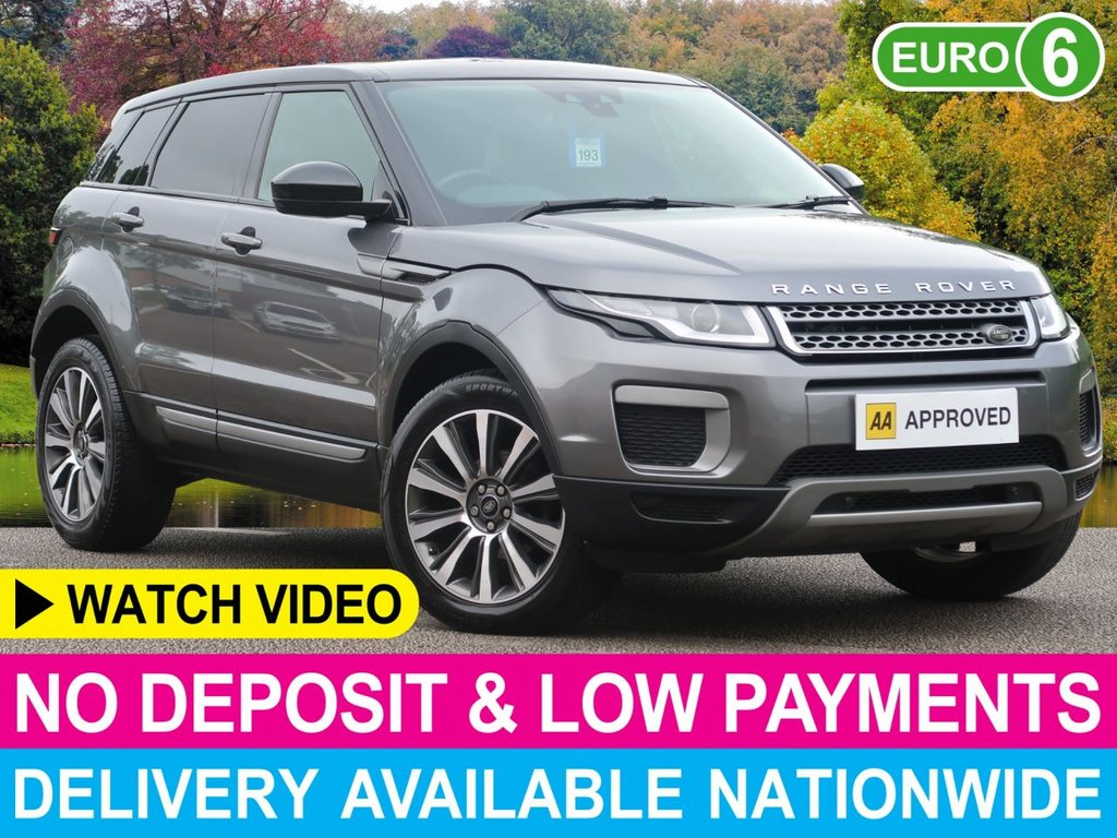 "USED 2016 16 LAND ROVER RANGE ROVER EVOQUE 2.0 eD4 SE Tech 5dr Black Roof Black Contrast Roof 19"" Alloys"