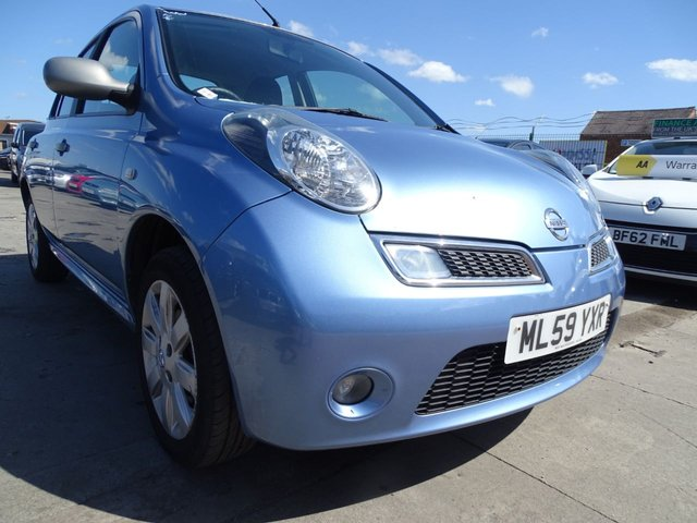 USED 2009 59 NISSAN MICRA 1.2 25 5d 78 BHP NEVER HAD AN ADVISORY EVER