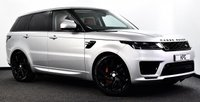 USED 2018 18 LAND ROVER RANGE ROVER SPORT 2.0 P400e 13.1kWh HSE Dynamic Auto 4WD (s/s) 5dr £80k New, Pan Roof, Black Pack