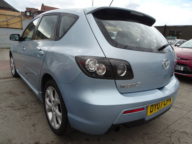 USED 2007 07 MAZDA 3 2.0 SPORT D 5d 141 BHP  VERY GOOD SPEC
