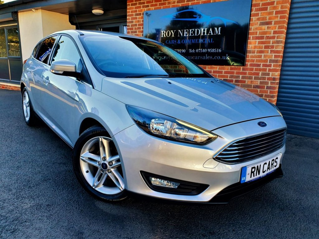 USED 2016 66 FORD FOCUS 1.5 ZETEC TDCI 5DR 118 BHP *** SAT NAV - FINANCE AVAILABLE ***