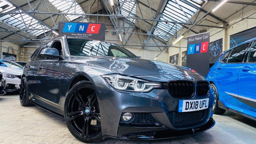 USED 2018 18 BMW 3 SERIES 3.0 330d M Sport Touring Auto (s/s) 5dr PERFORMANCEKIT+FACELIFT+19S