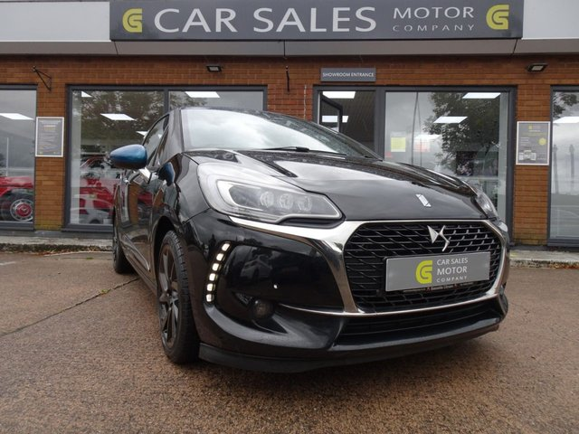 USED 2016 16 DS DS 3 1.2 PURETECH PRESTIGE S/S 3d 129 BHP £20 ROAD TAX, FULL SERVICE HISTORY, SAT NAV, DAB RADIO, BLUETOOTH, CRUISE CONTROL, FRONT AND REAR PARKING SENSORS, SIX SPEED GEARBOX, BLUE ROOF AND MATCHING WING MIRRORS! - 5 STAR RATED DEALERSHIP - BUY WITH CONFIDENCE!