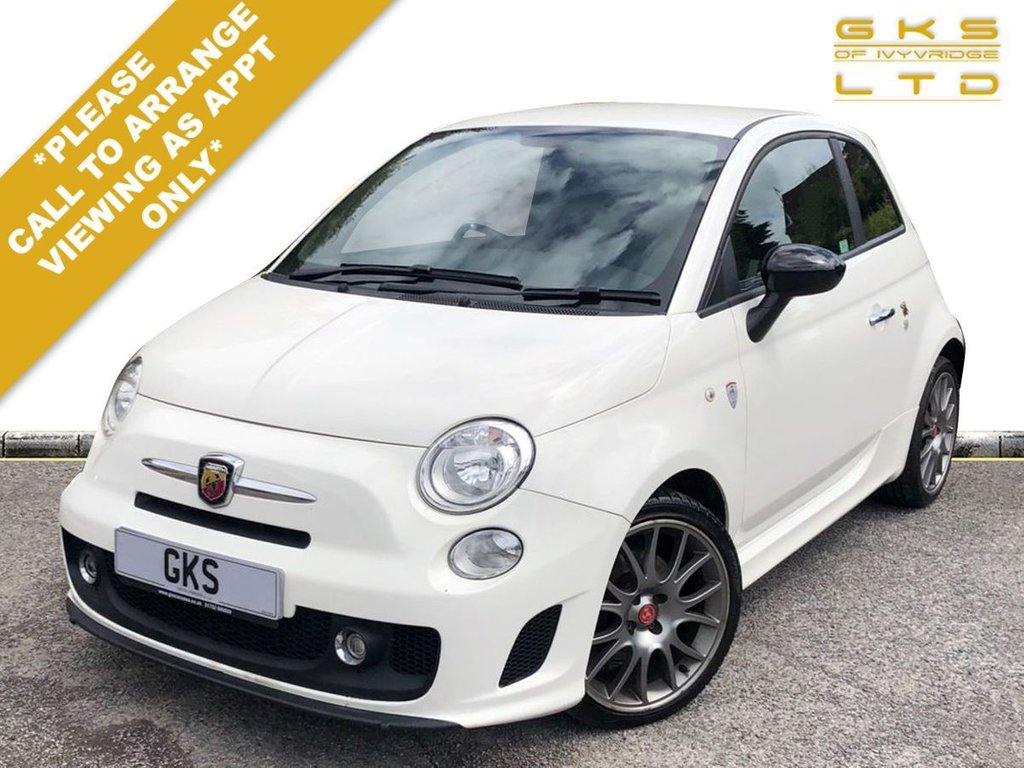 USED 2016 16 ABARTH 500 1.4 595 TROFEO 3d 138 BHP ** FULL SERVICE HISTORY + 2 OWNER **