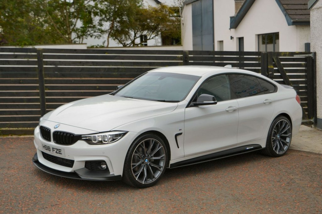 USED 2018 18 BMW 4 SERIES 2.0 420D M SPORT GRAN COUPE 4d 188 BHP BALANCE OF BMW WARRANTY
