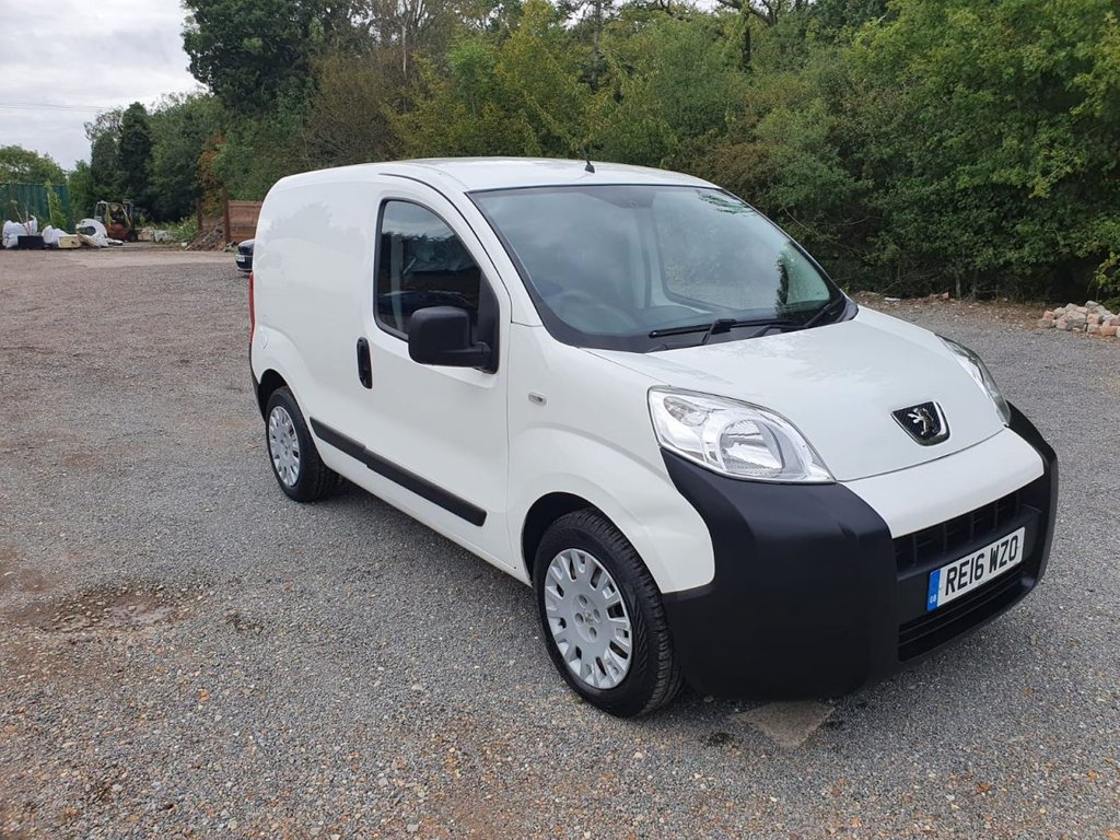 USED 2016 16 PEUGEOT BIPPER 1.2 HDI PROFESSIONAL 75 BHP AIR CON